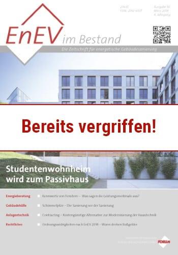 Ausgabe März 2014<br>STUDENTENWOHNHEIM PASSIVHAUS