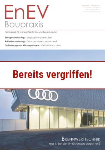 Ausgabe Sep./Okt. 2016<br>BRENNWERTTECHNIK
