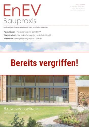 Ausgabe Mai/Jun. 2018<br>BAUWERKSBEGRÜNUNG