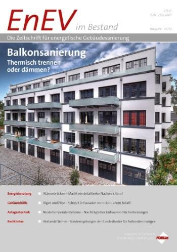 Ausgabe März 2012<br>BALKONSANIERUNG