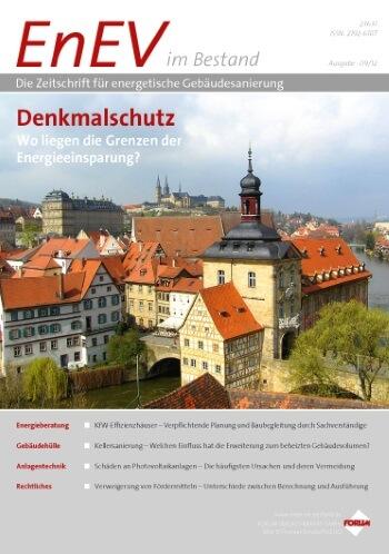 Ausgabe September 2012<br>DENKMALSCHUTZ