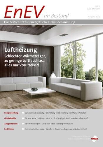 Ausgabe November 2012<br>LUFTHEIZUNG