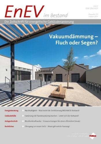 Ausgabe Januar 2013<br>VAKUUMDÄMMUNG