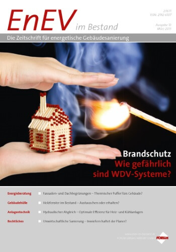 Ausgabe März 2013<br>BRANDSCHUTZ