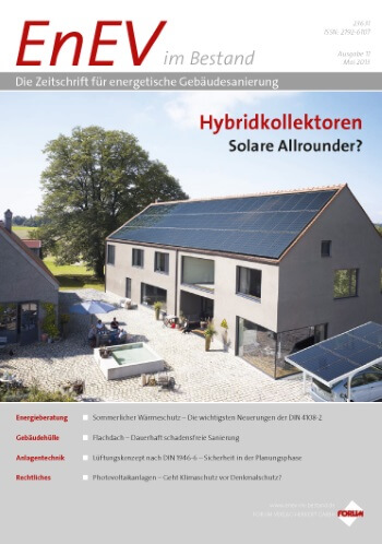 Ausgabe Mai 2013<br>HYBRIDKOLLEKTOREN