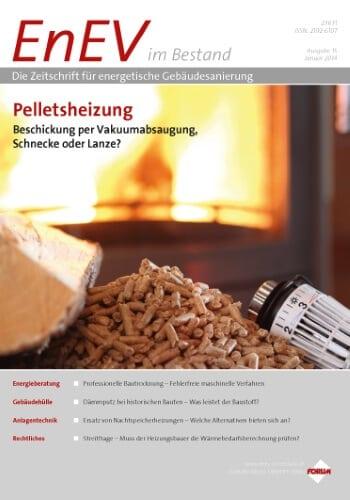 Ausgabe Januar 2014<br>PELLETSHEIZUNG