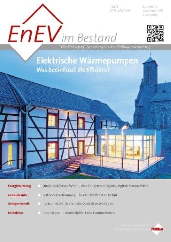 Ausgabe September 2015<br>ELEKTRISCHE WÄRMEPUMPEN