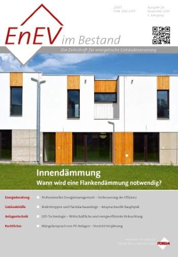 Ausgabe November 2015<br>INNENDÄMMUNG