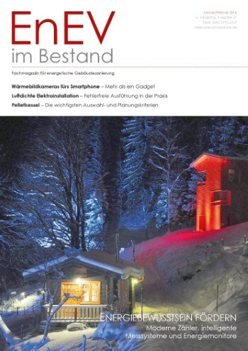 Ausgabe Jan./Feb. 2016<br>ENERGIEBEWUSSTSEIN FÖRDERN
