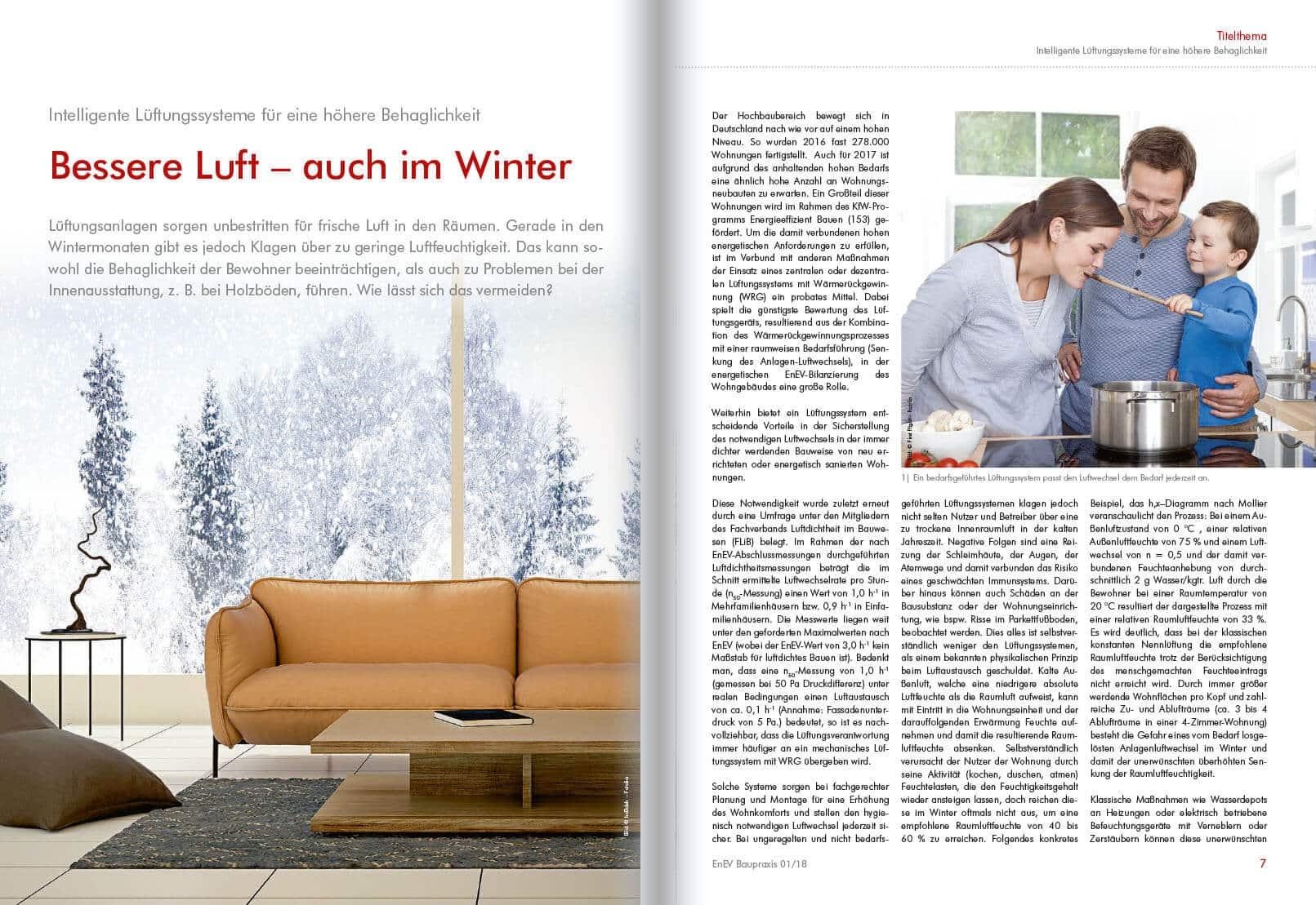 Bessere Luft auch im Winter