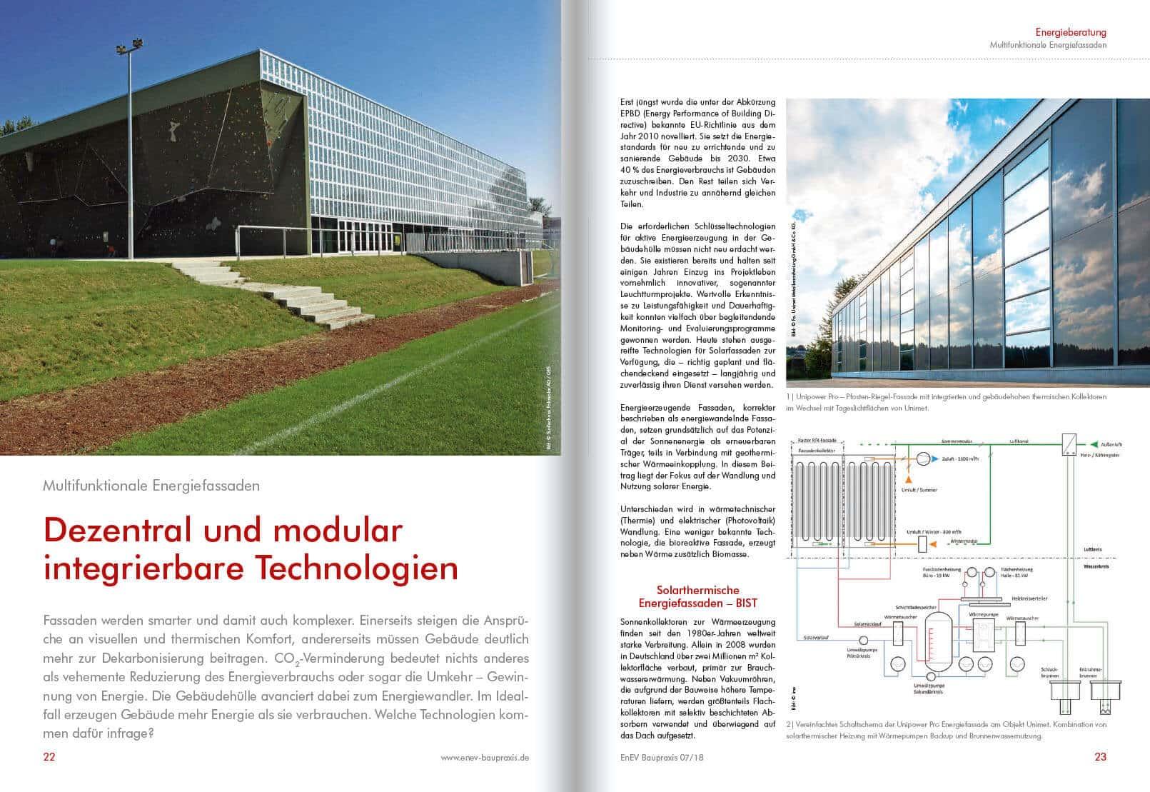 Dezentral und modular integrierbare Technologien
