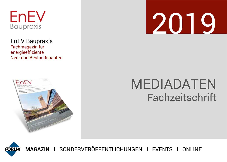 Mediadaten-EnEV 2019
