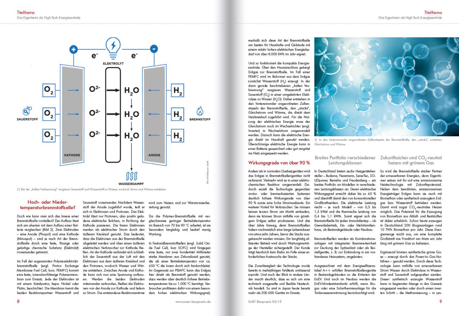 Brennstoffzellen - Energieerzeugung der Zukunft 2