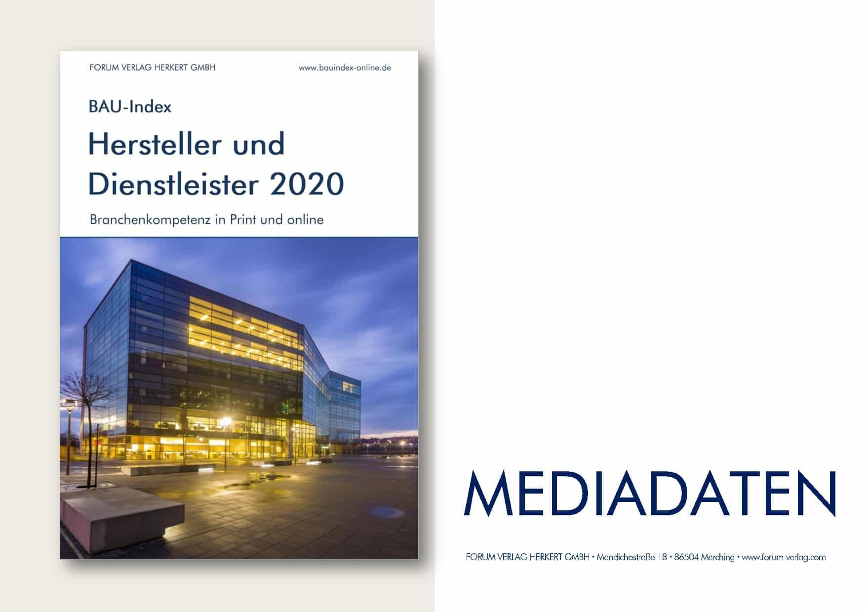 Mediadaten BAU Index 2020