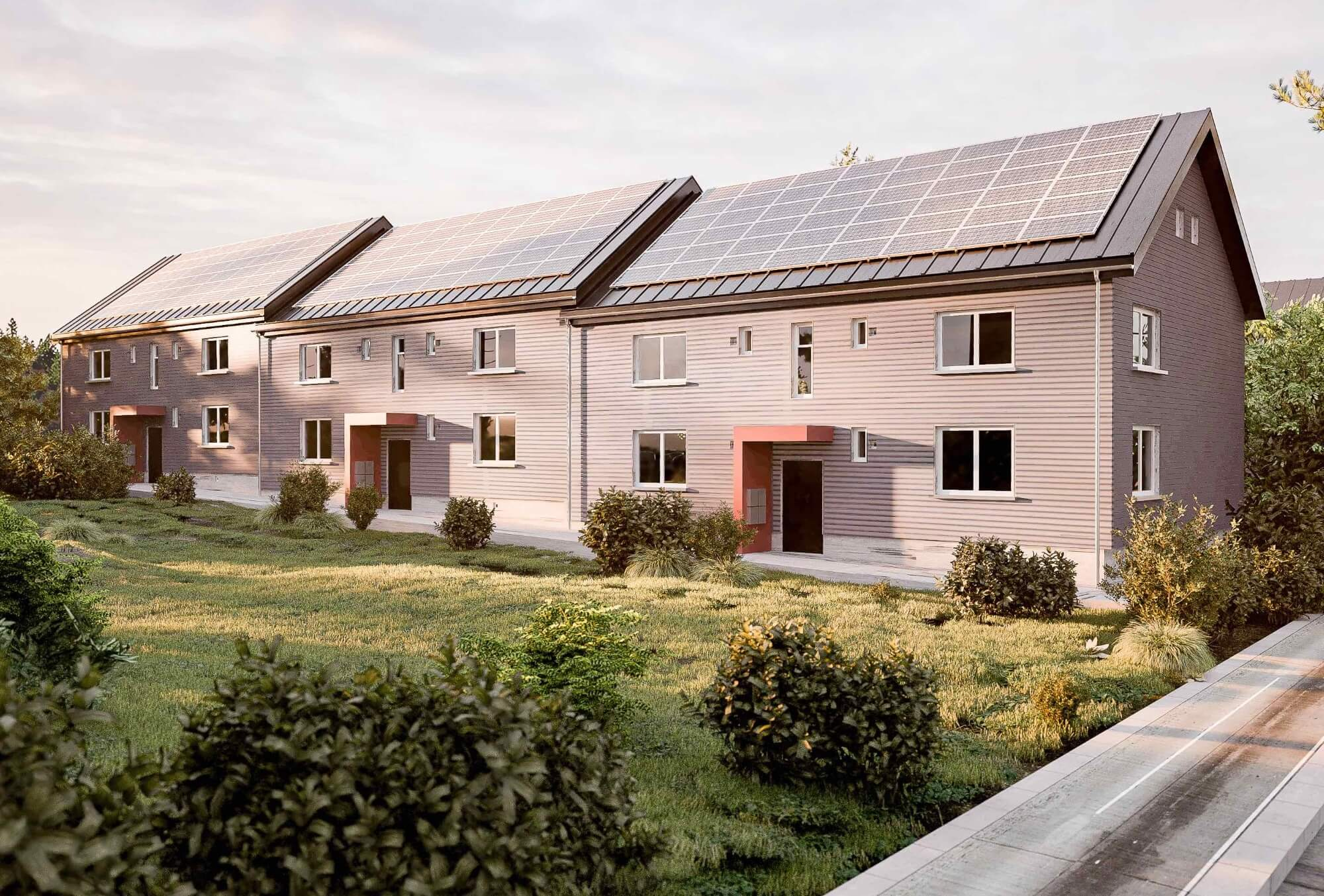 Serielle Sanierung mit Energiesprong